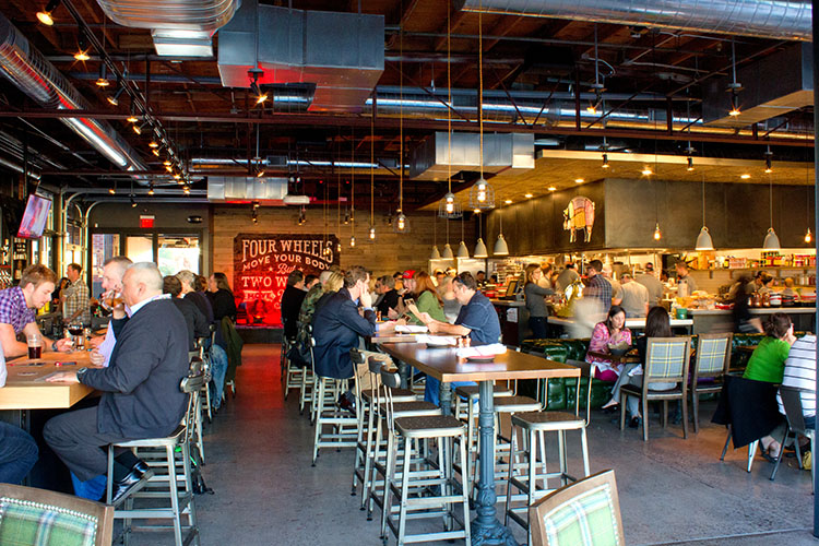 Culinary dropout the yard mike rumpeltin phoenix ncp design restaurant